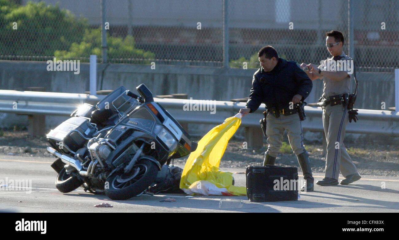 California Freeway Accident Stock Photos & California