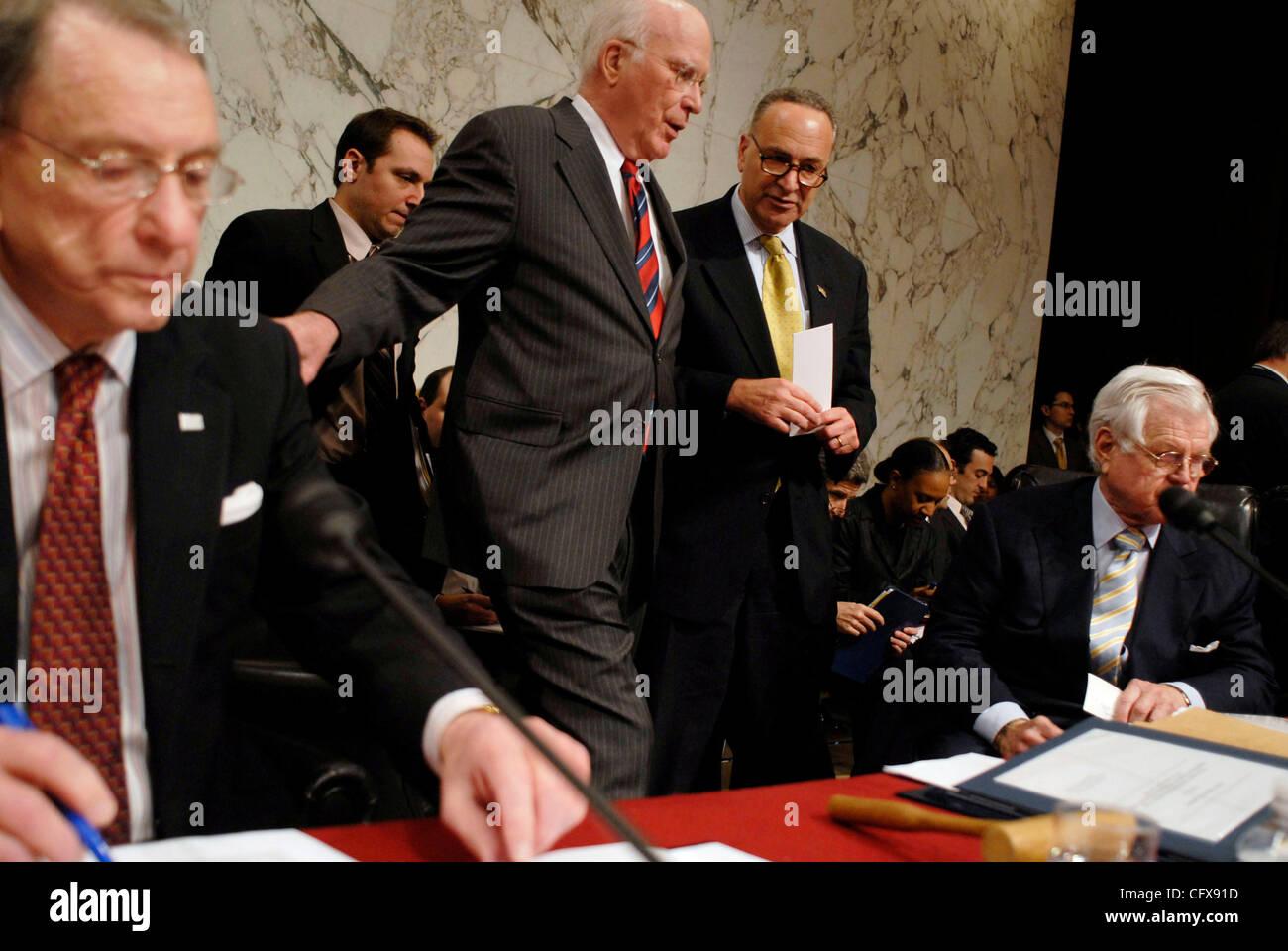 Mar 29, 2007 - Washington, DC, USA - Senate Judiciary committee chairman Senate Judiciary committee chairman PATRICK Stock Photo