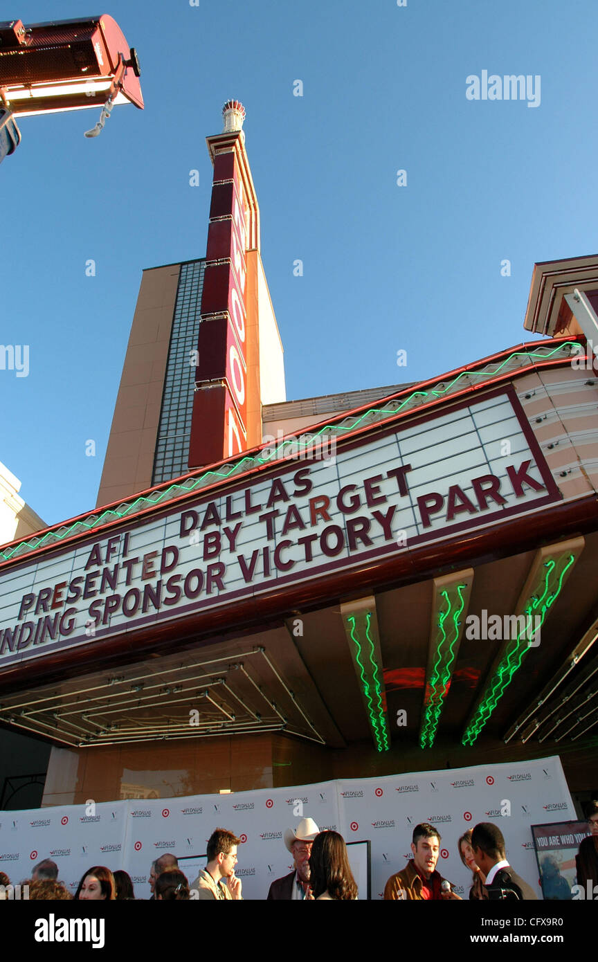 Mar 31, 2007 - Dallas, TX, USA - The AFI brought its  International screenplay festval to Dallas for the first time. Stock Photo