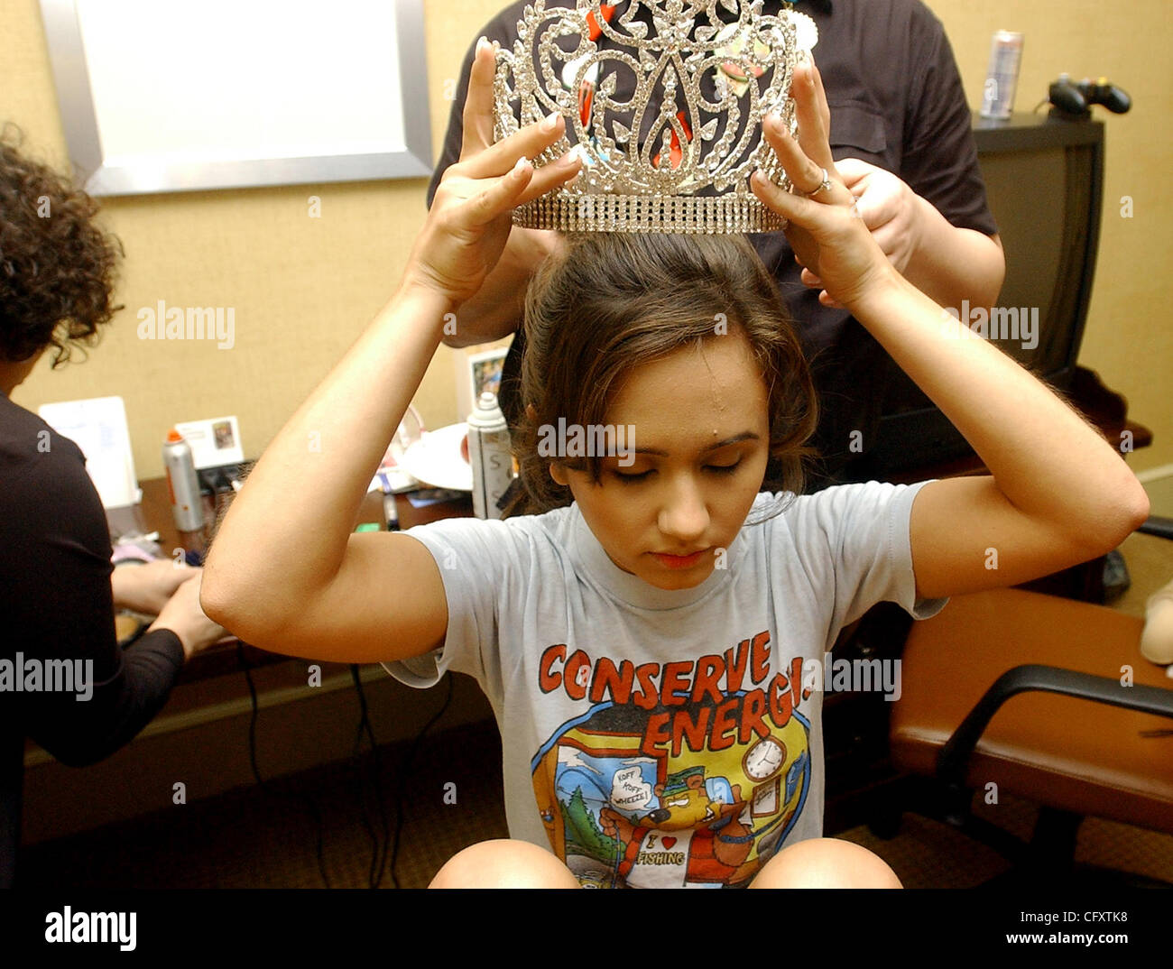 Apr 27, 2007 - San Antonio, TX, USA - Miss Fiesta San