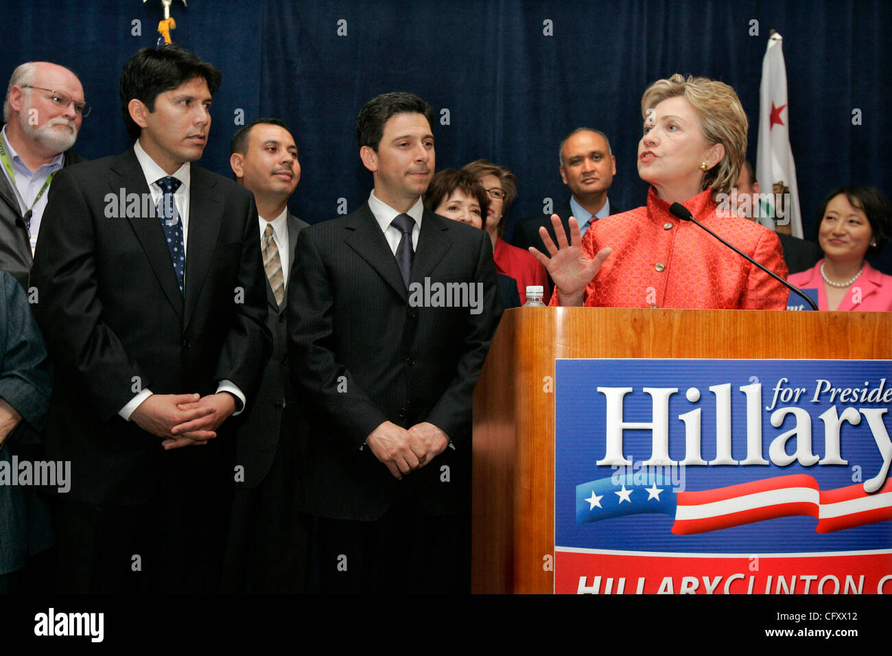 April 28, 2007, San Diego, California_California State Democrats Convention at the San Diego Convention Center- - Stock Image