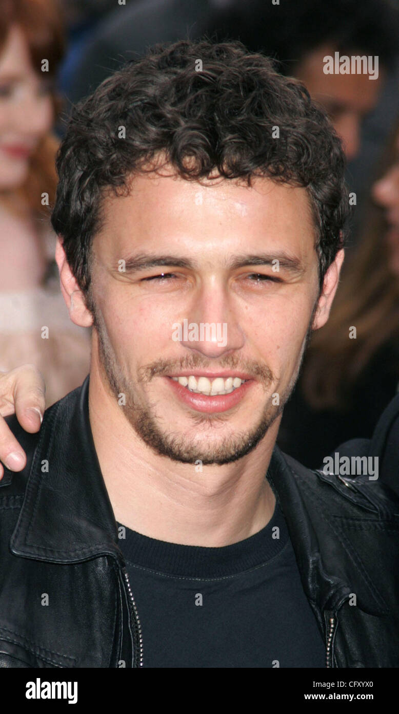 Apr 30 2007 New York Ny Usa Actor James Franco From The Cast