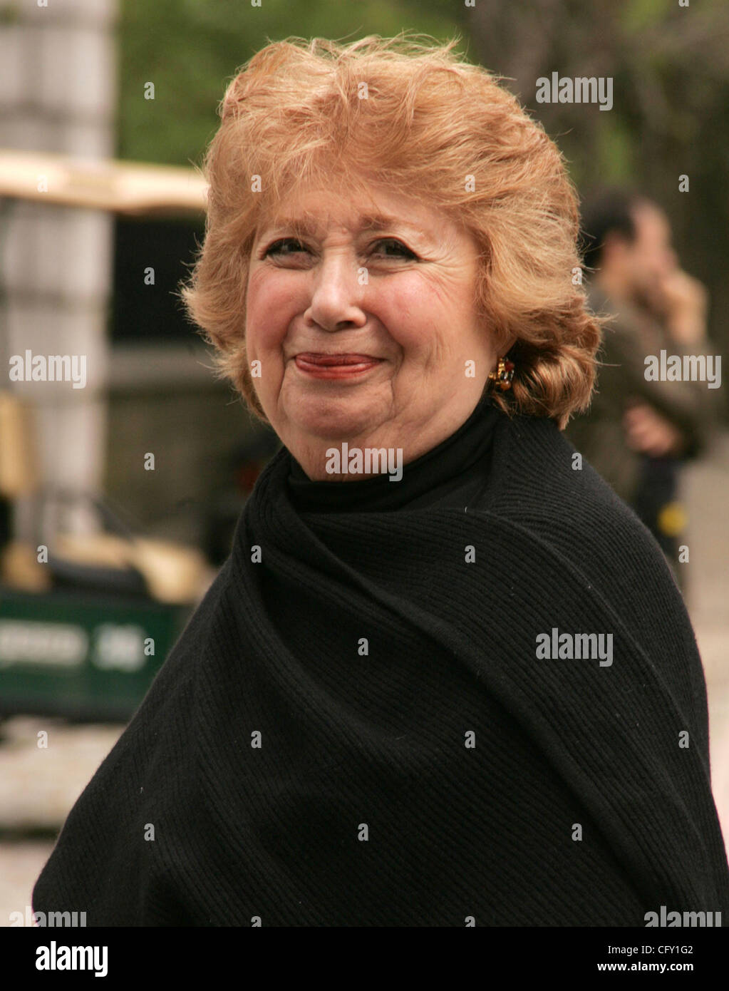 May 02, 2007 - New York, NY, USA - Opera singer BEVERLY SILLS at the arrivals for the 25th Annual Frederick Law - Stock Image