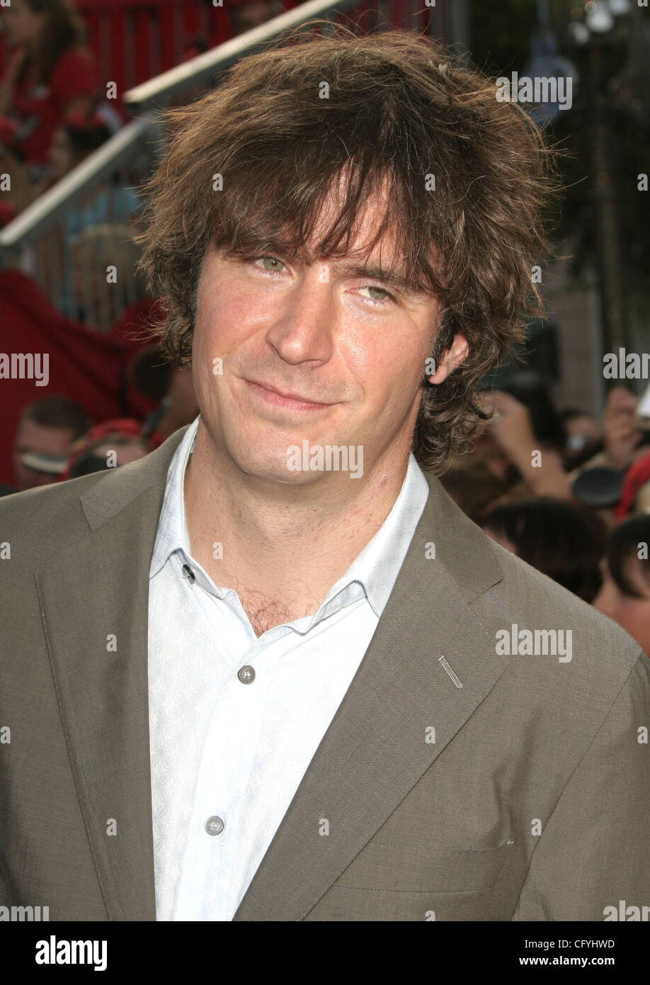 May 19, 2007; Anaheim, California, USA;  Actor JACK DAVENPORT at the 'Pirates of the Caribbean: At Worlds End' - Stock Image