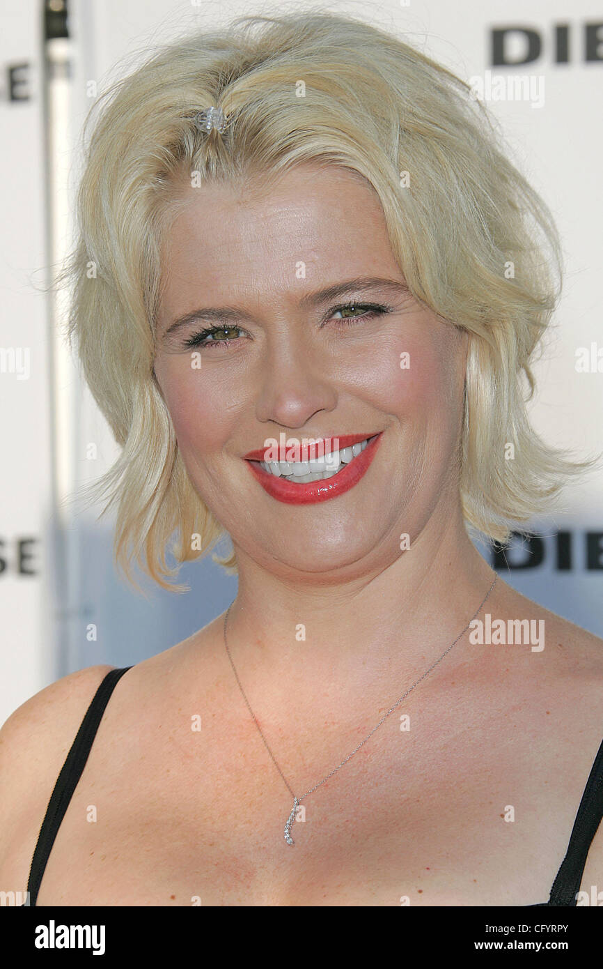 © 2007 Jerome Ware/Zuma Press  Actress KRISTY SWANSON during arrivals at the opening of Diesel store on Melrose - Stock Image