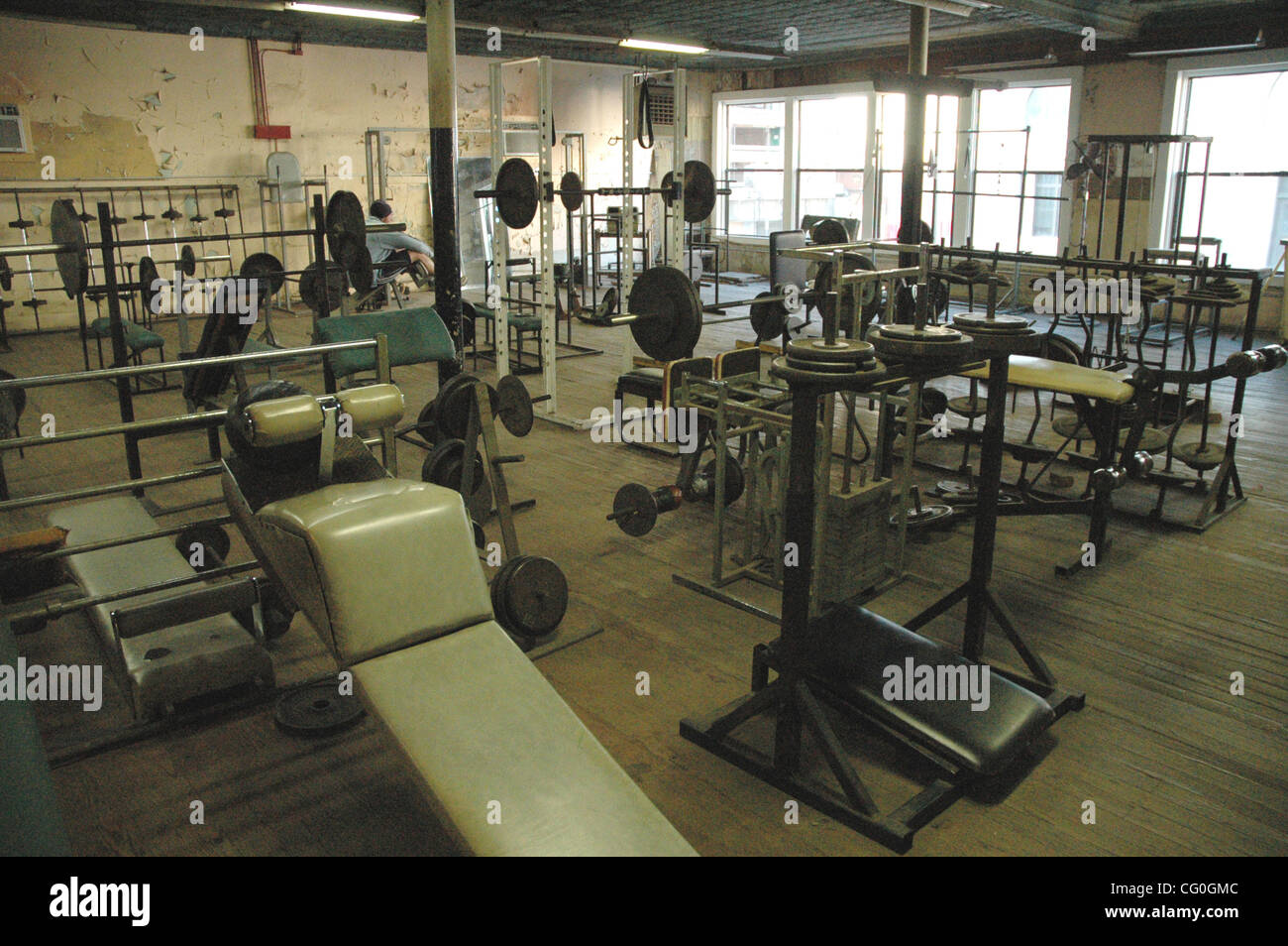 Jun 28 2007 dallas tx usa it is easy to see why dougs gym