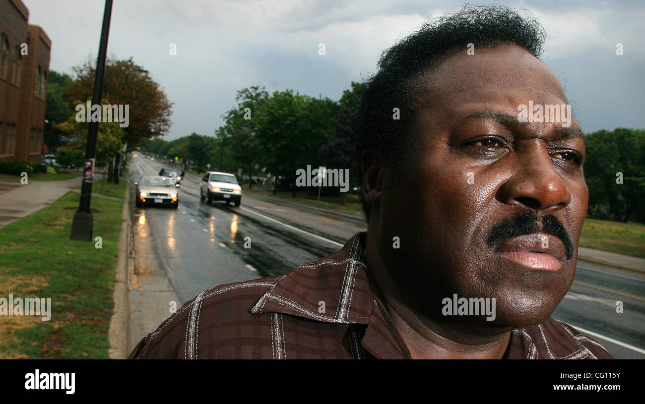 July 18th, 2007 - Minneapolis, MN, USA -  Spike Moss was photographed near the intersection of Plymouth and Penn - Stock Image