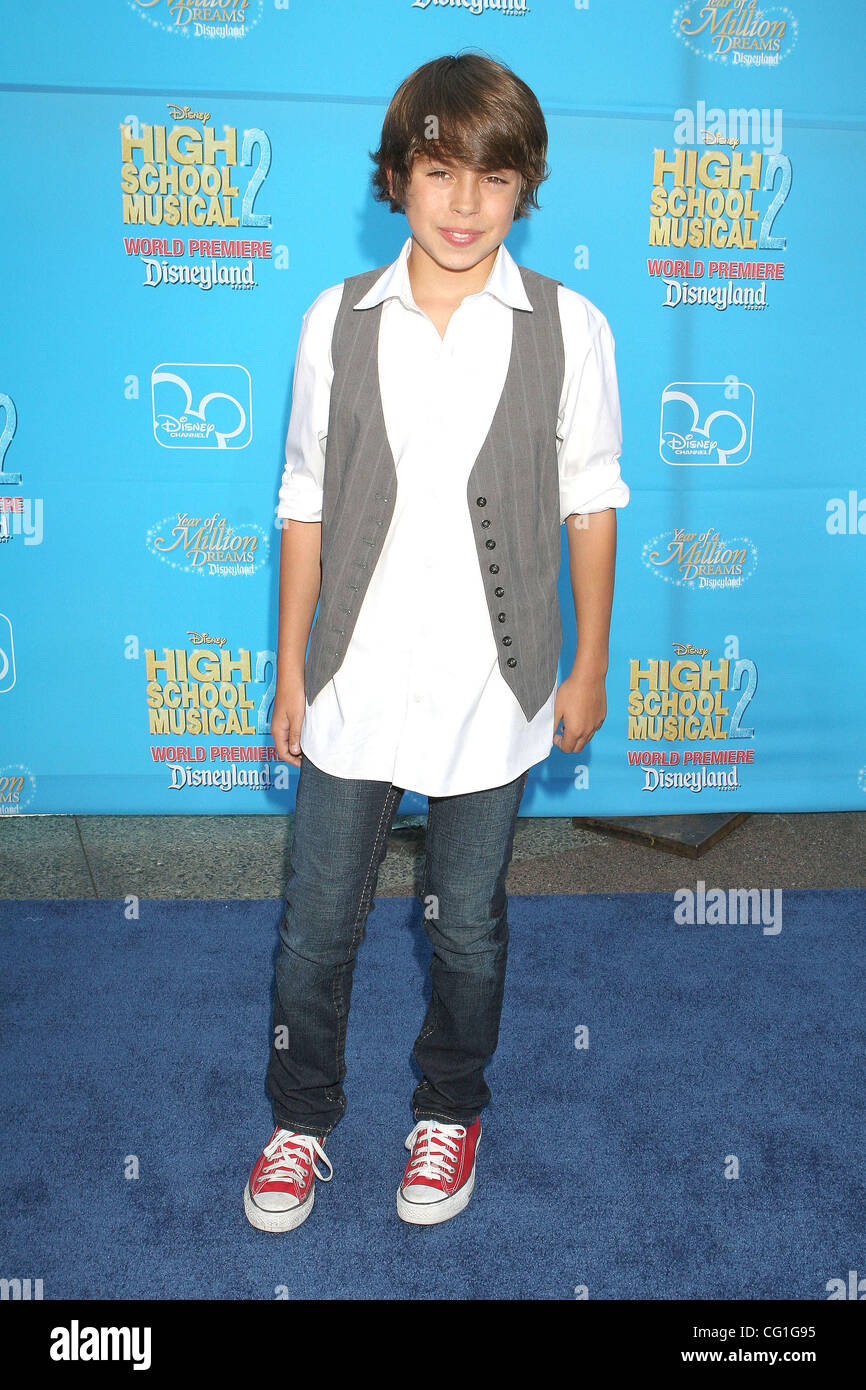 Aug 14 2007 Anaheim California Usa Actor Jake T Austin At The