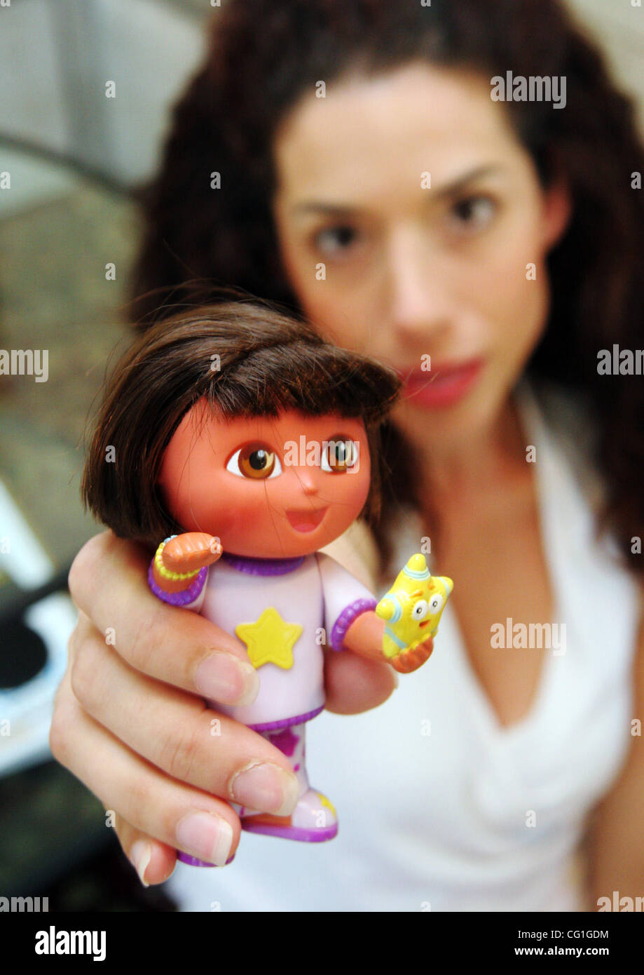 August 14th 2007 - Danville, CA, USA -  Mattel recalled 9 million Chinese-made toys Tuesday, including Polly Pockets Stock Photo