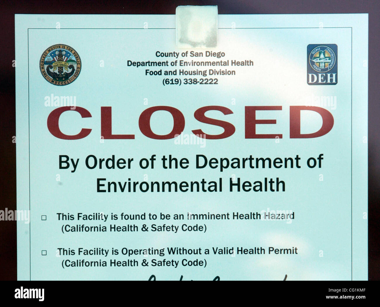 San Diego Health Department >> Hlbadwaterotay276484x004 Jpg 8 21 2007 Chula Vista San