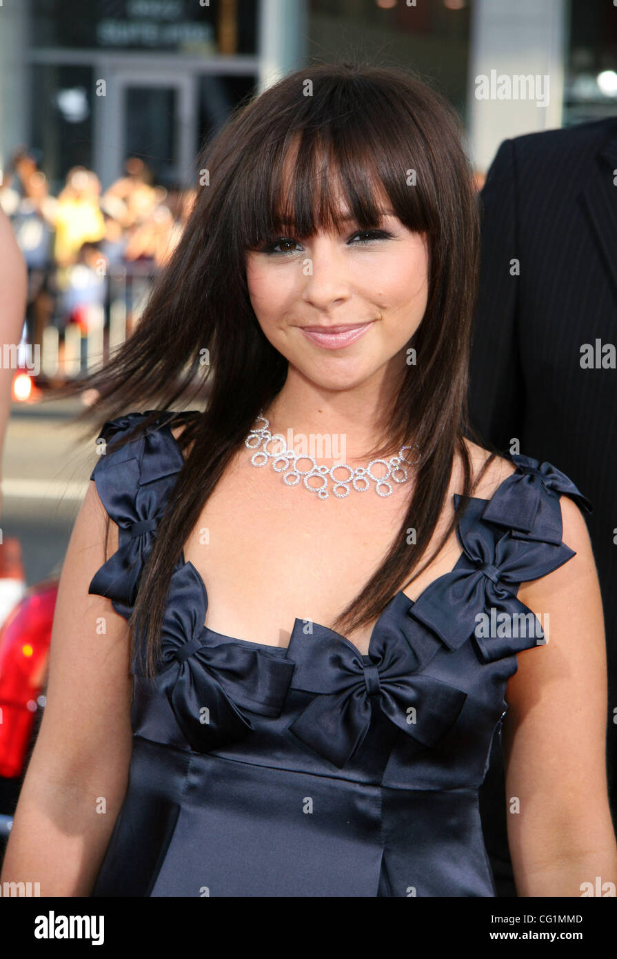 aug 23, 2007 - hollywood, ca, usa - danielle harris arriving at the