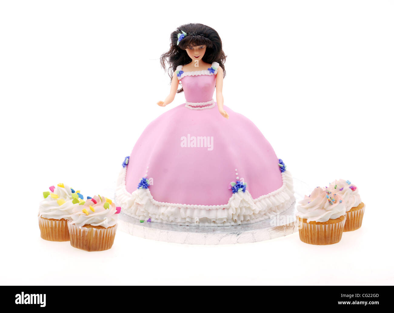 Outstanding A Birthday Cake In The Shape Of A Doll July 20 2007 Sacramento Personalised Birthday Cards Cominlily Jamesorg