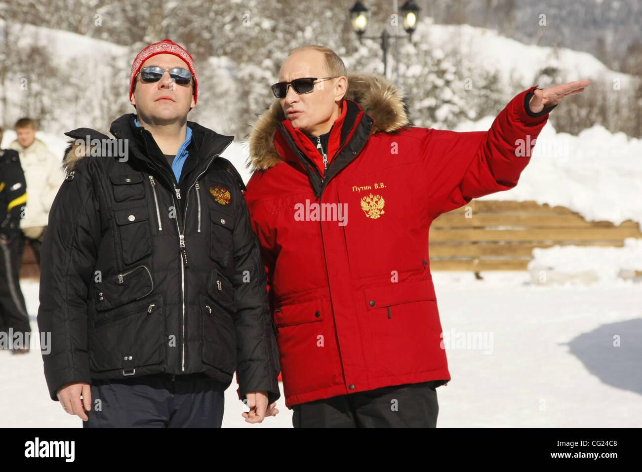 Feb 18 2011 Sochi Krasnodar Territory Russian Federation L R Stock Photo Alamy