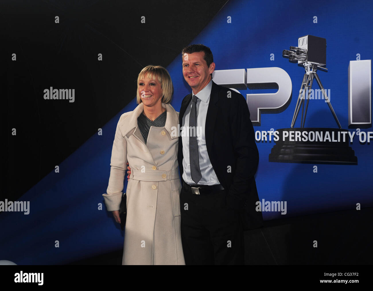 Steve Cram BBC Sports Personality of The Year 2010 - arrivals Birmingham, England - 19.12.10 - Stock Image