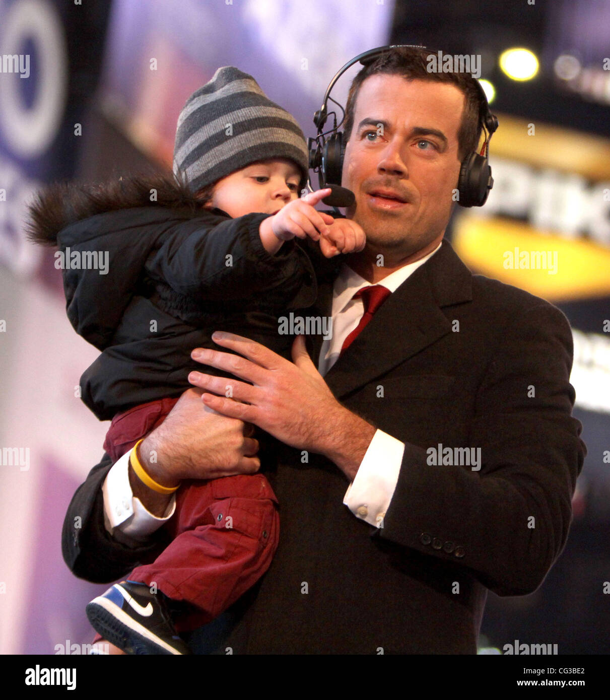 Carson Daly And His Son Jackson James Carson Daly Co Hosts Nbc S