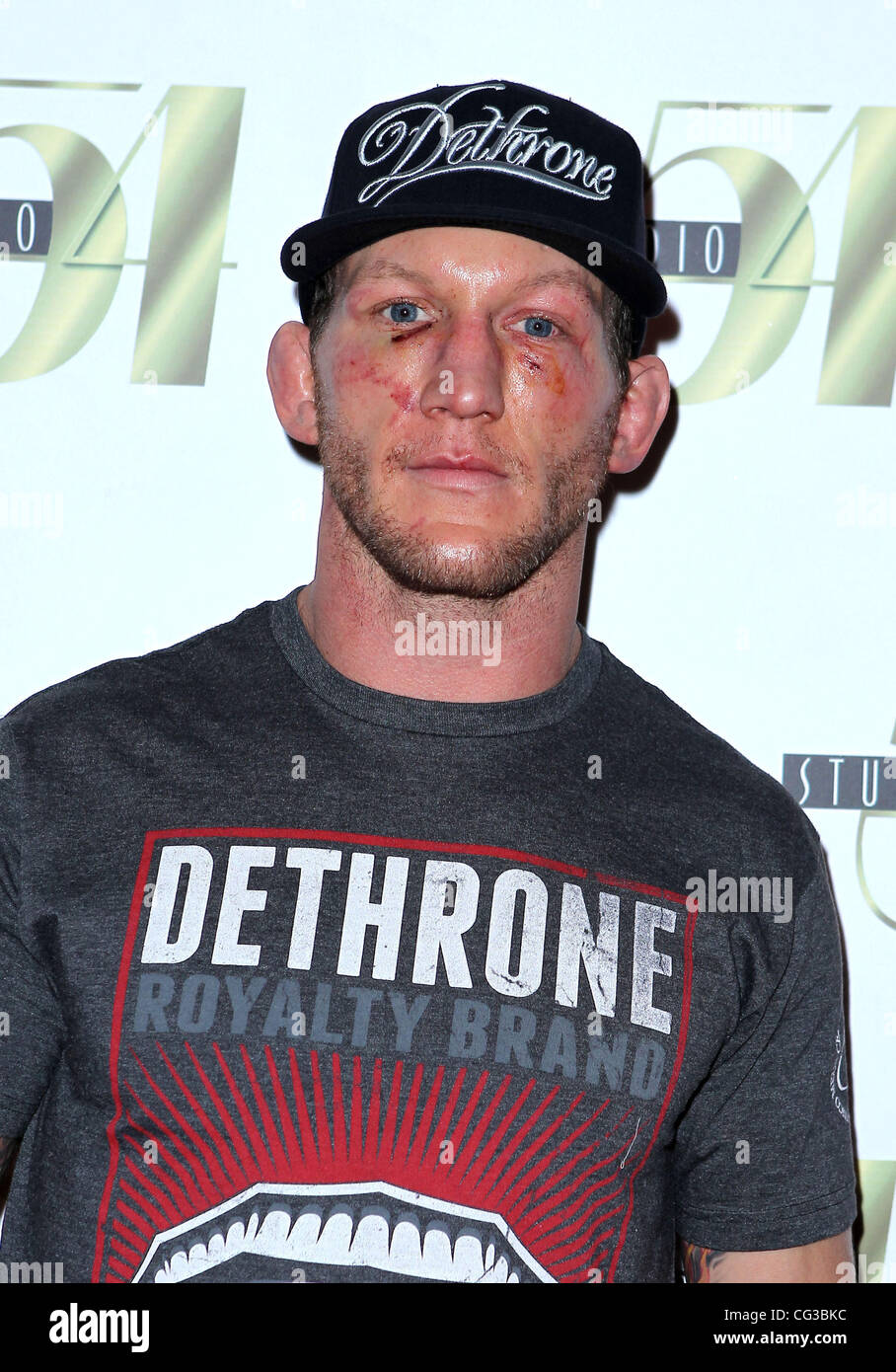 Gray Maynard UFC Fighter Gray Maynard hosts the official after-fight party at Studio 54 at the MGM Grand Resort - Stock Image