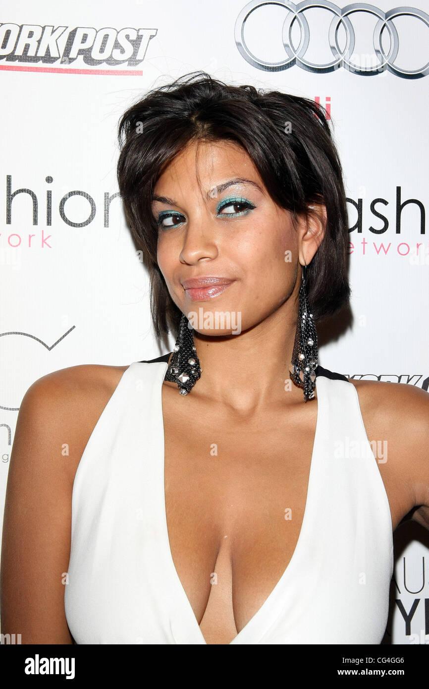 Ashley Marie Mercedes Benz Img New York Fashion Week Spring Summer 2011 Ifashion Swim Wear Arrivals New York City Usa
