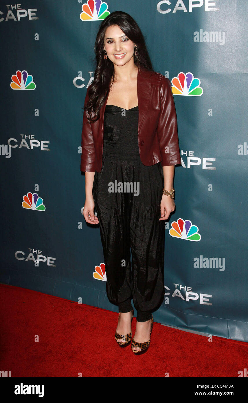 Guest Premiere Party for 'The Cape' Held At The Music Box Theatre Hollywood, California - 04.01.11 - Stock Image