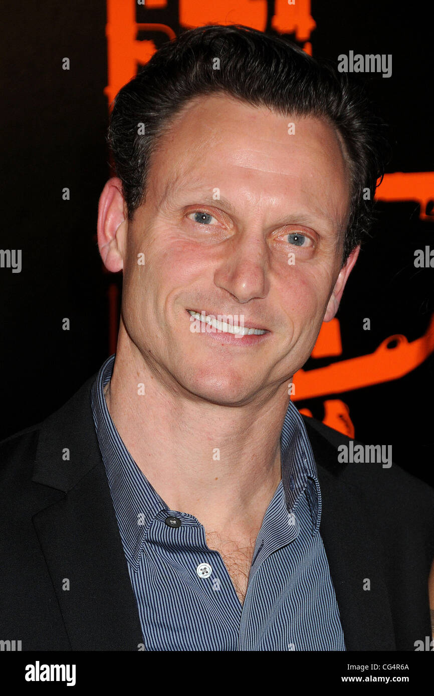Tony Goldwyn. Los Angeles Premiere of 'The Mechanic' held at the Arclight Cinema. Hollywood, California - Stock Image
