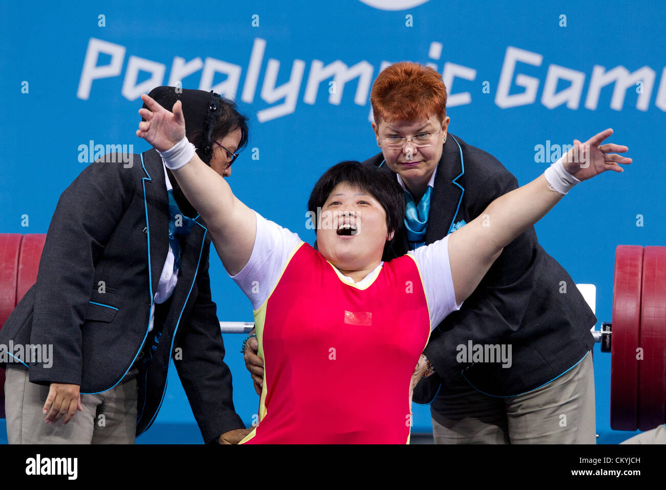 Taoying Fu 4 Paralympic medals in powerlifting Taoying Fu 4 Paralympic medals in powerlifting new pictures