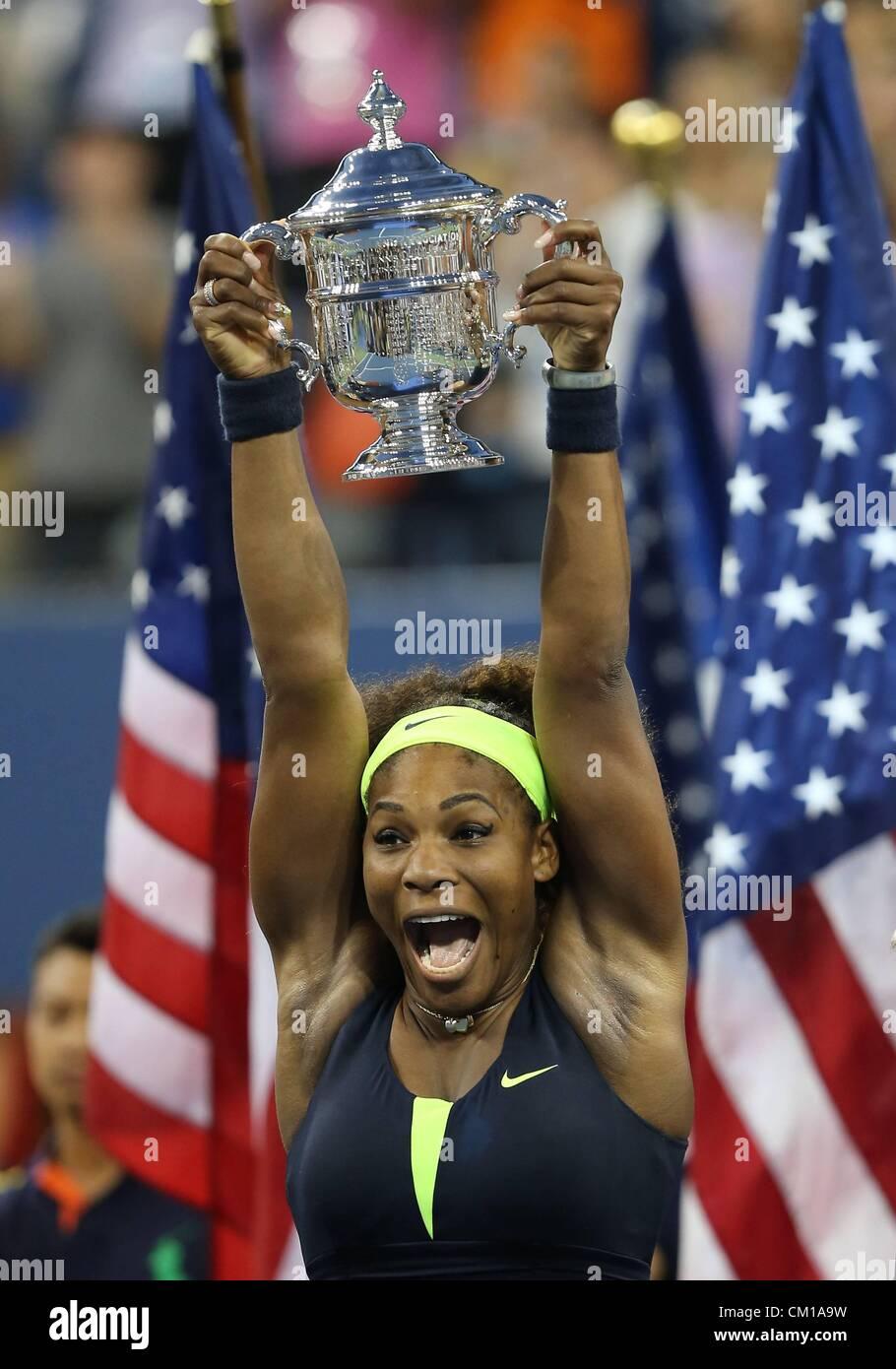 09.09.2012. Flushing, NYC, USA.   U.S. Open 2012 USTA Billie Jean King National Tennis Center Flushing Meadows New - Stock Image