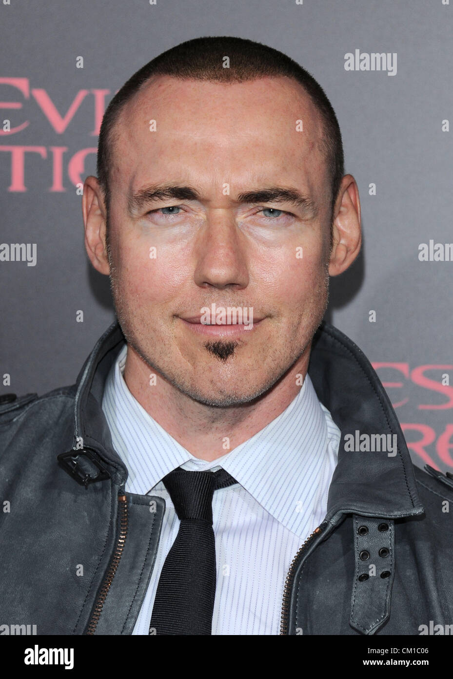 Los Angeles, CA, USA Sept 12th 2012. Kevin Durand  at the film premiere for Resident Evil - Retribution Photo © - Stock Image