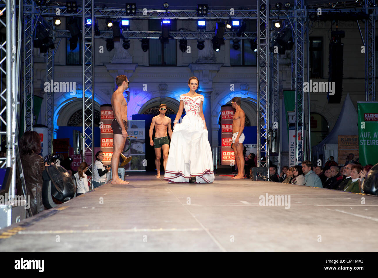 Traditional Fashion Labels Present Their Latest Designs Of Stock
