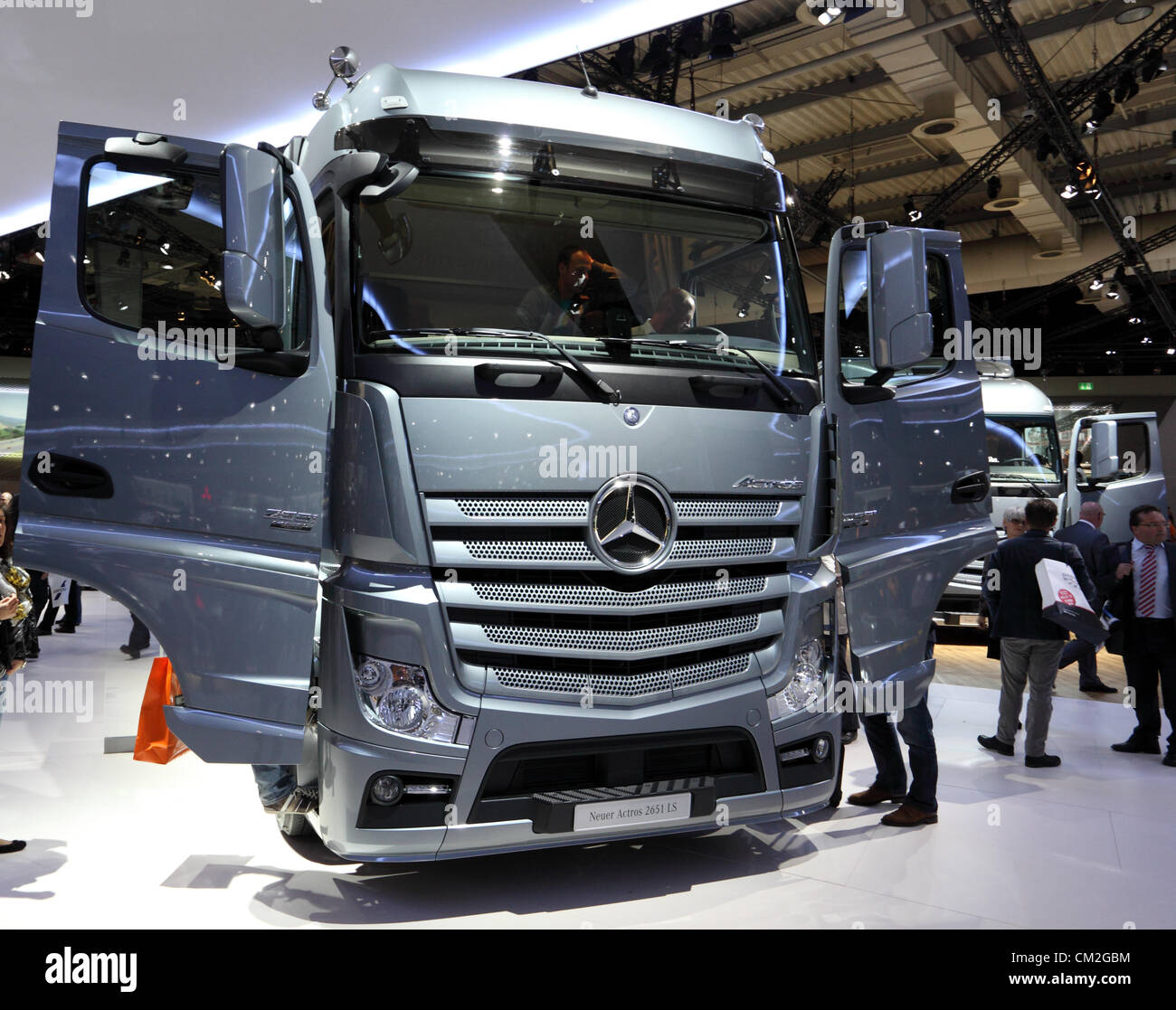 New Mercedes Benz Actros 2651 LS Truck at the International Motor Show for  Commercial Vehicles -