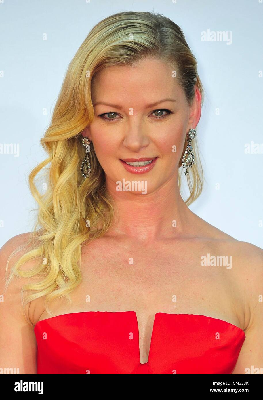 Gretchen Moll arrivals64th Primetime Emmy Awards - ARRIVALS Nokia Theatre L.A LIVE Los Angeles CA September 23 2012 Stock Photo