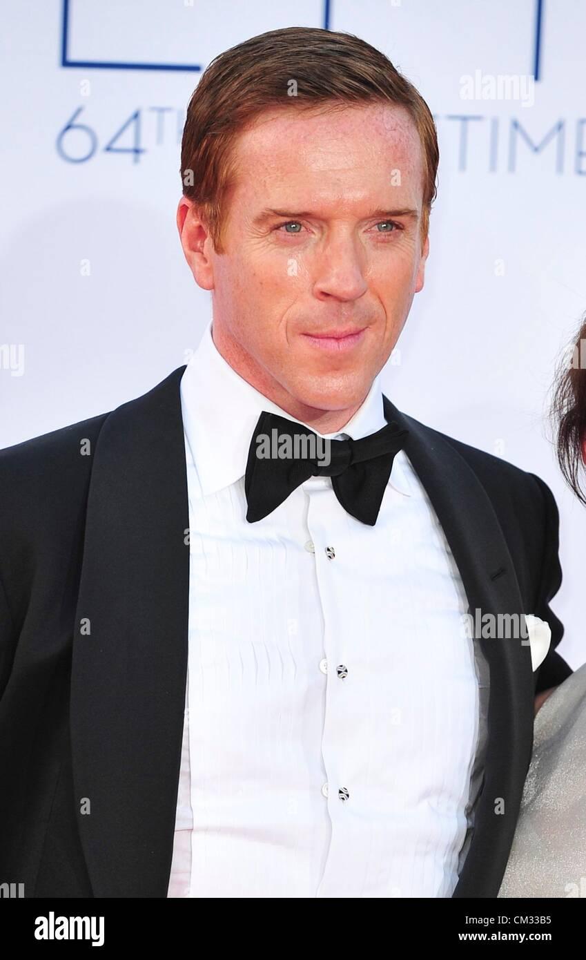 Damian Lewis arrivals64th Primetime Emmy Awards - ARRIVALS Part 2 Nokia Theatre L.A LIVE Los Angeles CA September - Stock Image