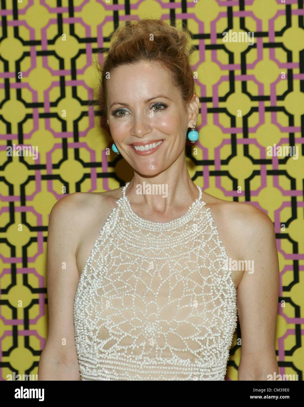 Leslie Mann arrivals HBO Emmy Awards After PartyPlaza atPacific Design Center Los Angeles CA September 23 2012 Photo - Stock Image