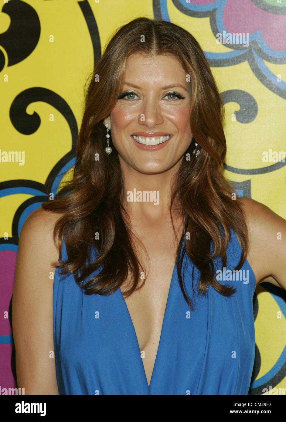 Kate Walsh arrivals HBO Emmy Awards After PartyPlaza atPacific Design Center Los Angeles CA September 23 2012 Photo - Stock Image