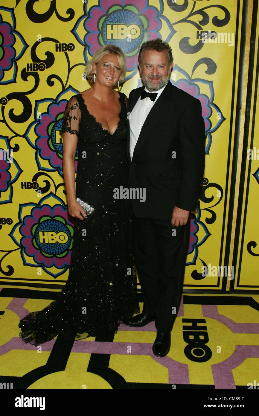 Hugh Bonneville arrivals HBO Emmy Awards After Party - PART 2Plaza atPacific Design Center Los Angeles CA September - Stock Image
