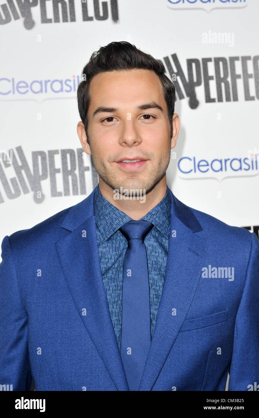 Skylar Astin arrivals PITCH PERFECT Premiere Arclight Hollywood Los Angeles CA September 24 2012 Photo Elizabeth - Stock Image