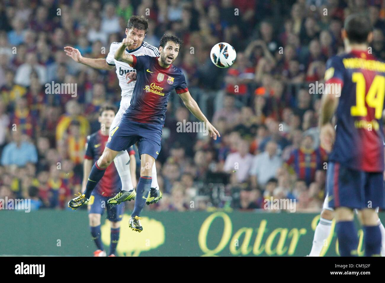 0f033f8376f Xabi Alonso And Cesc Fabregas Stock Photos   Xabi Alonso And Cesc ...