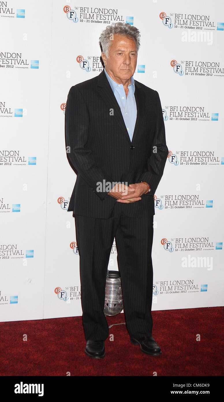 Dustin Hoffman at the  BFI London Film Festival Photocall for 'Quartet' at the Empire, Leicester Square, London Stock Photo