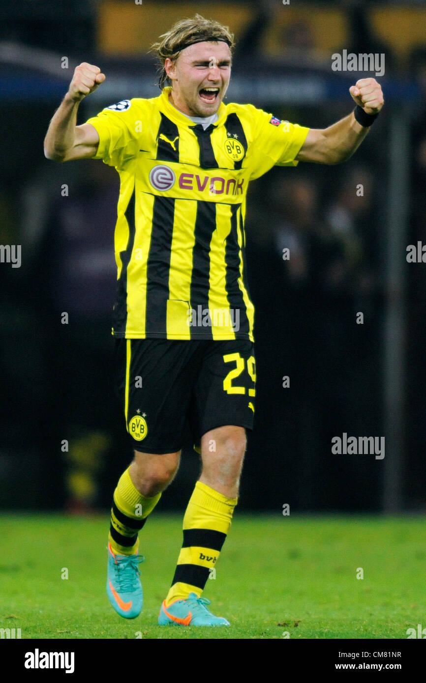 Dortmund, Germany, Football Champions League, 3rd Matchday, Borussia Dortmund - Real Madrid 2:1: Marcel Schmelzer - Stock Image