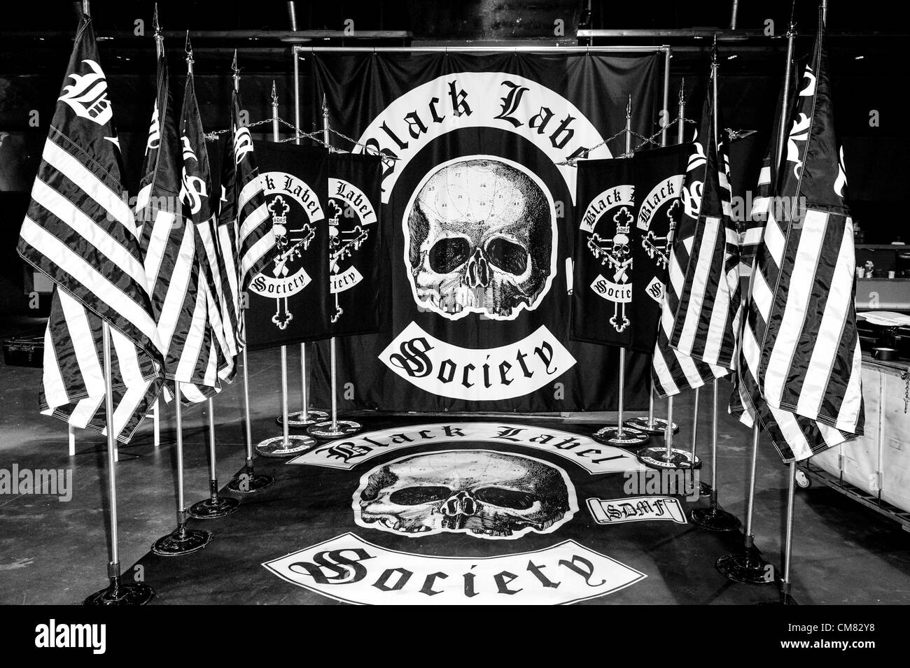 Black label society black and white stock photos images alamy oct 24 2012 toronto ontario canada black label society meet m4hsunfo
