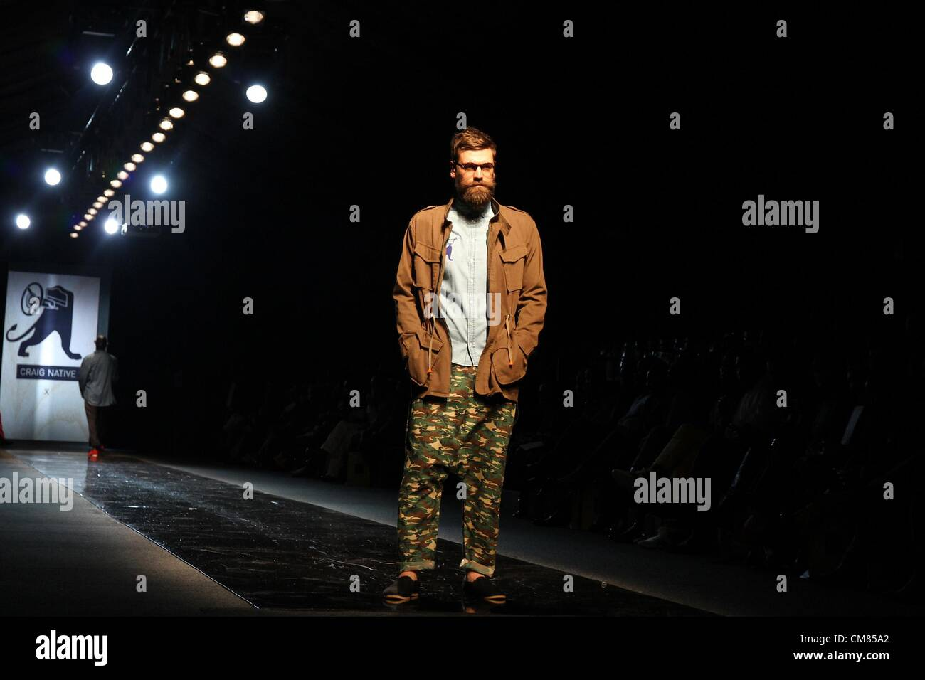 Johannesburg South Africa October 25 A Male Model Showcases A Stock Photo Alamy