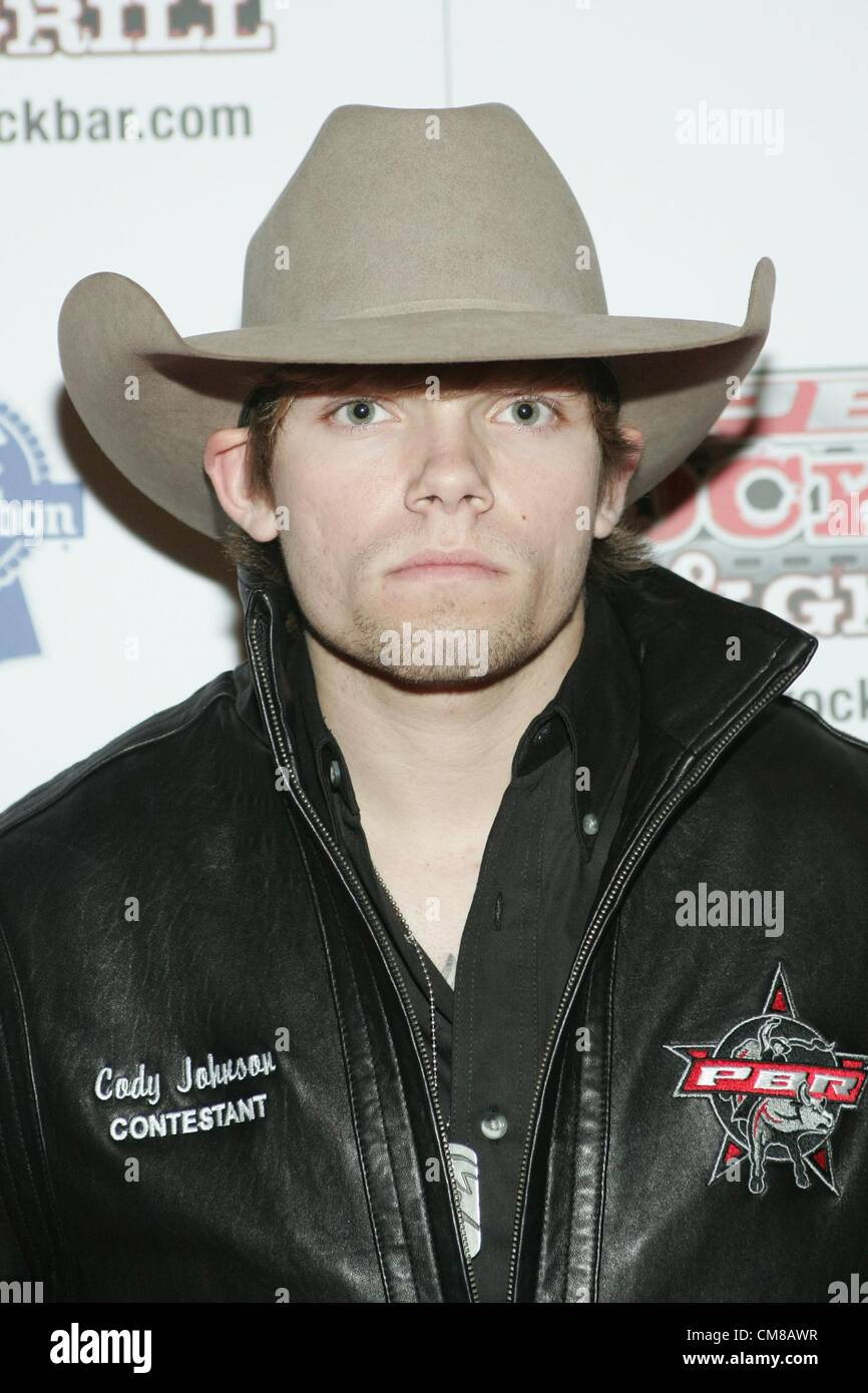 9ca28d6ecc6 Cody Johnson at arrivals for Professional Bull Rider Superstars at PBR Rock  Bar
