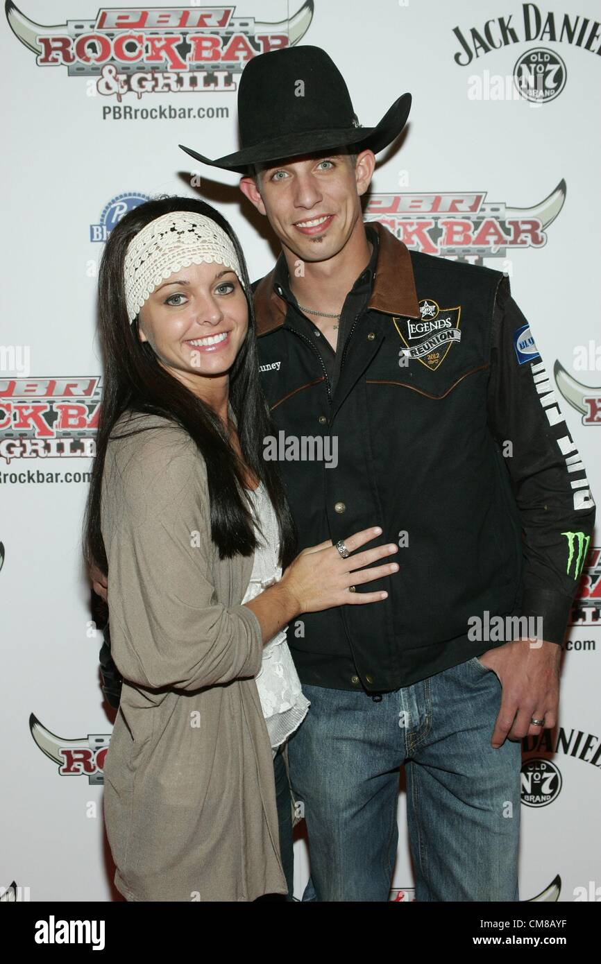 ce69abb8 Lexie Mauney, J. B. Mauney at arrivals for Professional Bull Rider  Superstars at PBR Rock Bar, Miracle Mile Shops at Planet Hollywood Resort  and Casino, ...