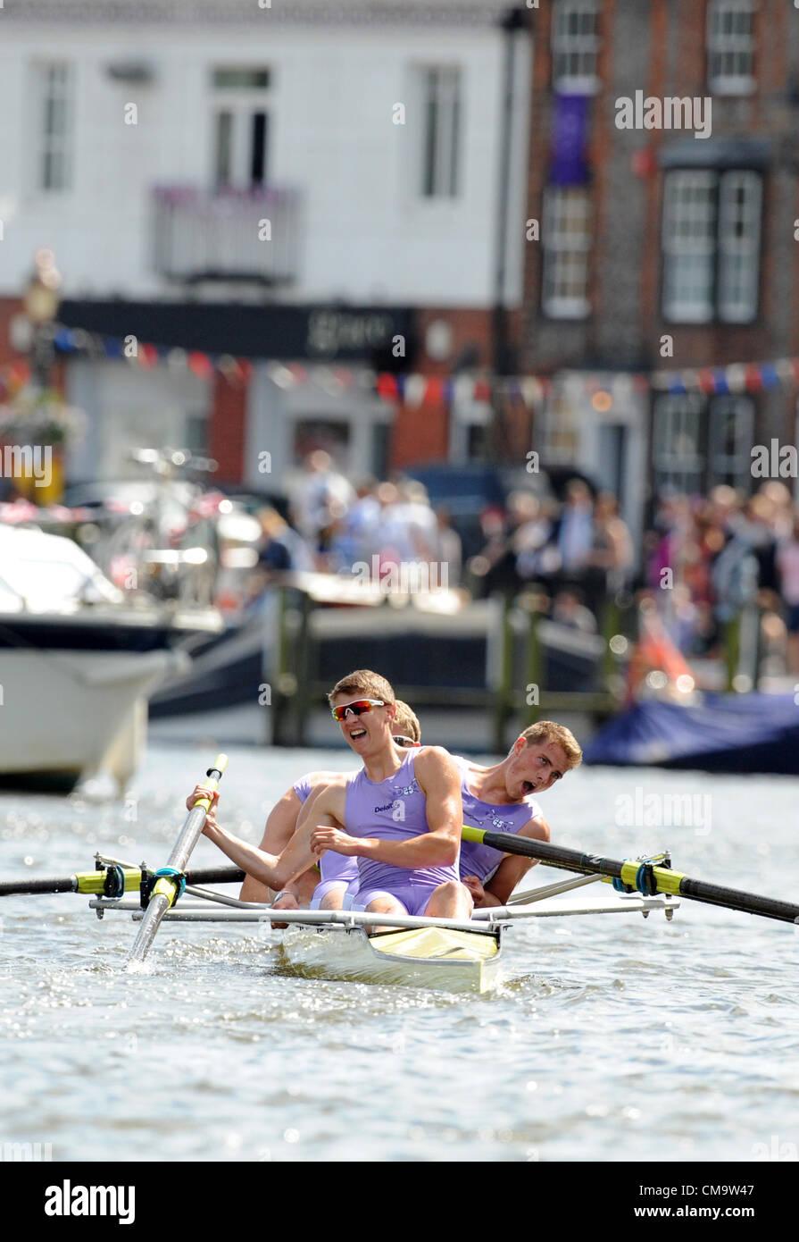 Durham Rowing Regatta Durham England Stock Photos & Durham