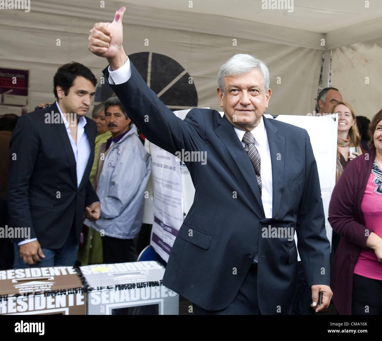 July 1 2012 Mexico Distrito Federal Mexico The Mexican Stock