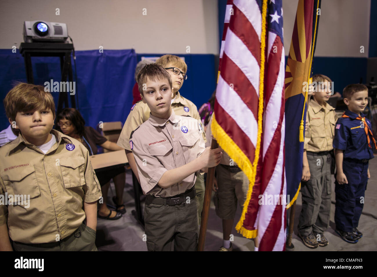 Boy Scout Troop Stock Photos & Boy Scout Troop Stock Images