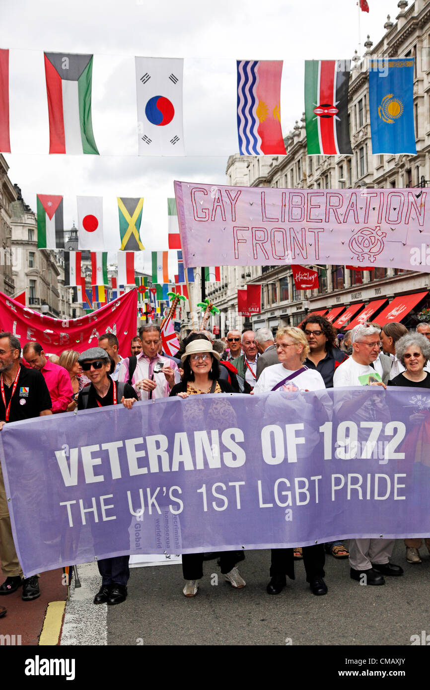 First gay march uk