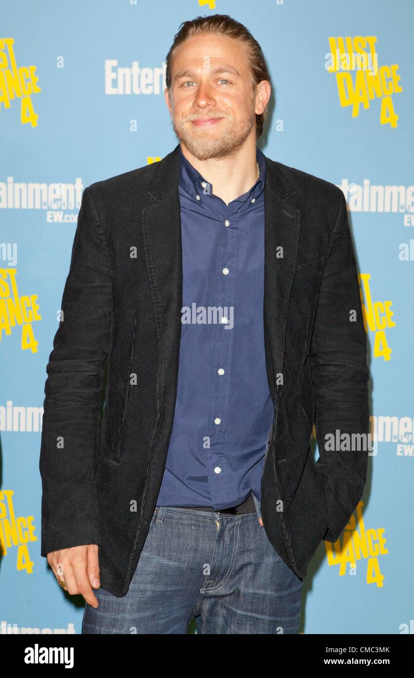 Charlie Hunnam At Arrivals For Comic Con International 2012 Stock