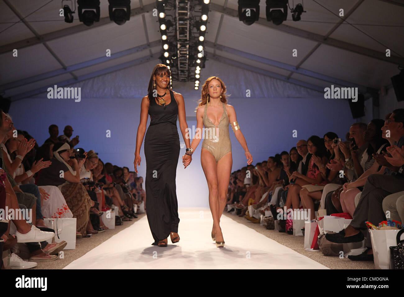 July 23 2012 Miami Beach Florida U S Designer Veronique De La