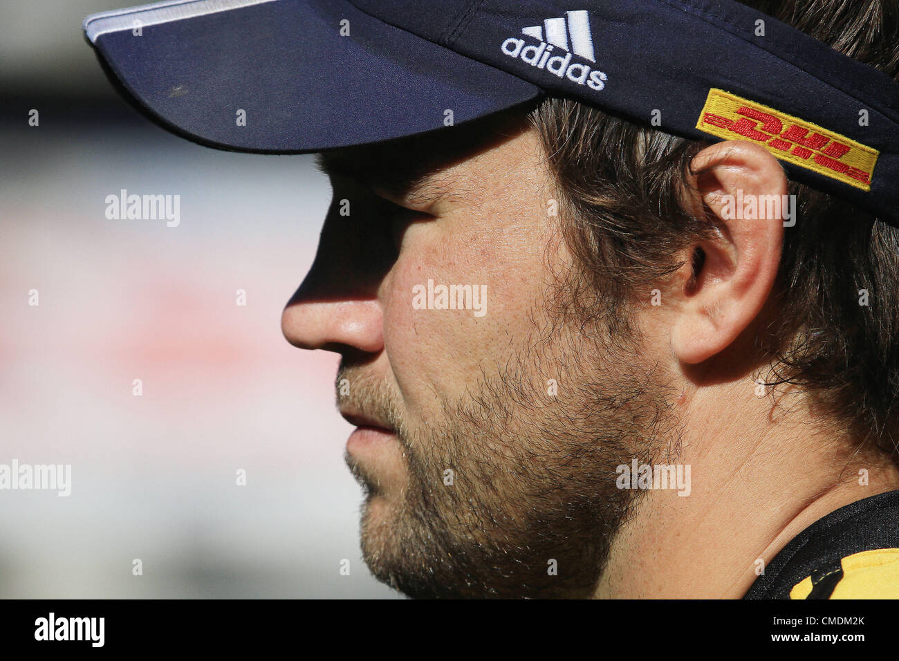 CAPE TOWN, SOUTH AFRICA - JULY 25, Peter Grant during the DHL Stormers training and press conference from DHL Newlands - Stock Image
