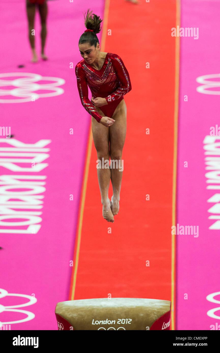 Vault gymnastics mckayla maroney Judges Mckayla Maronney usa Preforms The Vault During The Womens Gymnastics Team Finals At The Alamy American Female Gymnast Mckayla Maroney Stock Photos American