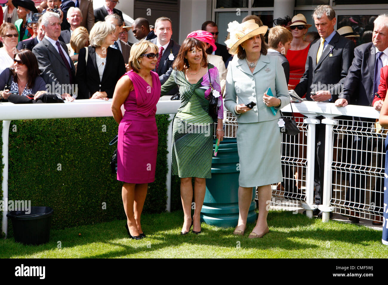 reasonable price another chance huge discount 01.08.12 CHICHESTER, ENGLAND Lady Jane Cecil ( MIDDLE) with ...